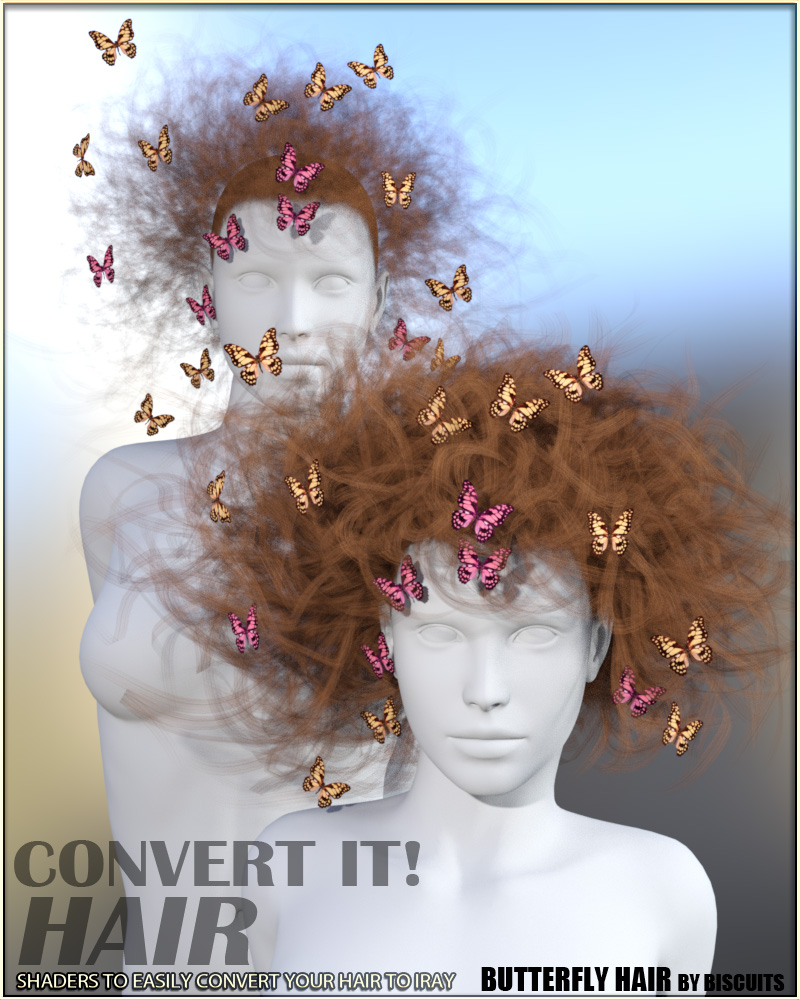 Convert It! - Hair by vyktohria
