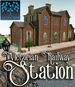Victorian Railway Station 3D Models BlueTreeStudio