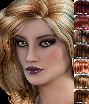 Mane Concern: Madisson Braid Hair G3/G8 3D Figure Assets 3DSublimeProductions