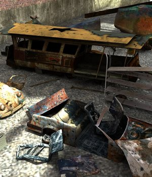 Vehicle Junkyard - Extended License 3D Game Models : OBJ : FBX 3D Models Extended Licenses dexsoft-games