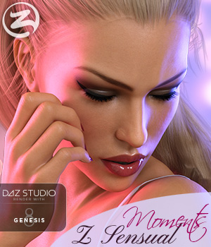 Z Sensual Moments - Morph Dial and One-Click Expressions for Victoria 8 3D Figure Assets Zeddicuss