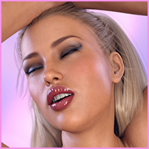 Z Sensual Moments - Morph Dial and One-Click Expressions for Victoria 8 image 3