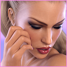 Z Sensual Moments - Morph Dial and One-Click Expressions for Victoria 8 image 4