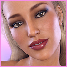 Z Sensual Moments - Morph Dial and One-Click Expressions for Victoria 8 image 5