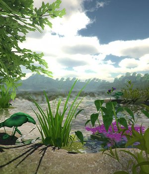Water Plants - Extended License 3D Game Models : OBJ : FBX 3D Models Extended Licenses dexsoft-games