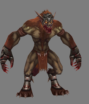 WereWolf - Extended License 3D Game Models : OBJ : FBX 3D Models Extended Licenses dexsoft-games