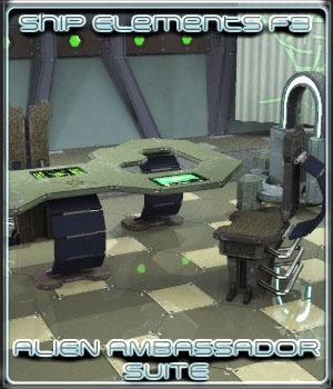 Ship Elements F3: Alien Ambassador Suite 3D Models 3-d-c