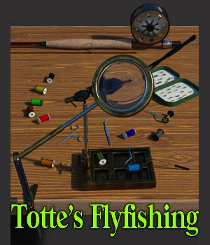 Totte's Flyfishing 3D Models ColonelPanic