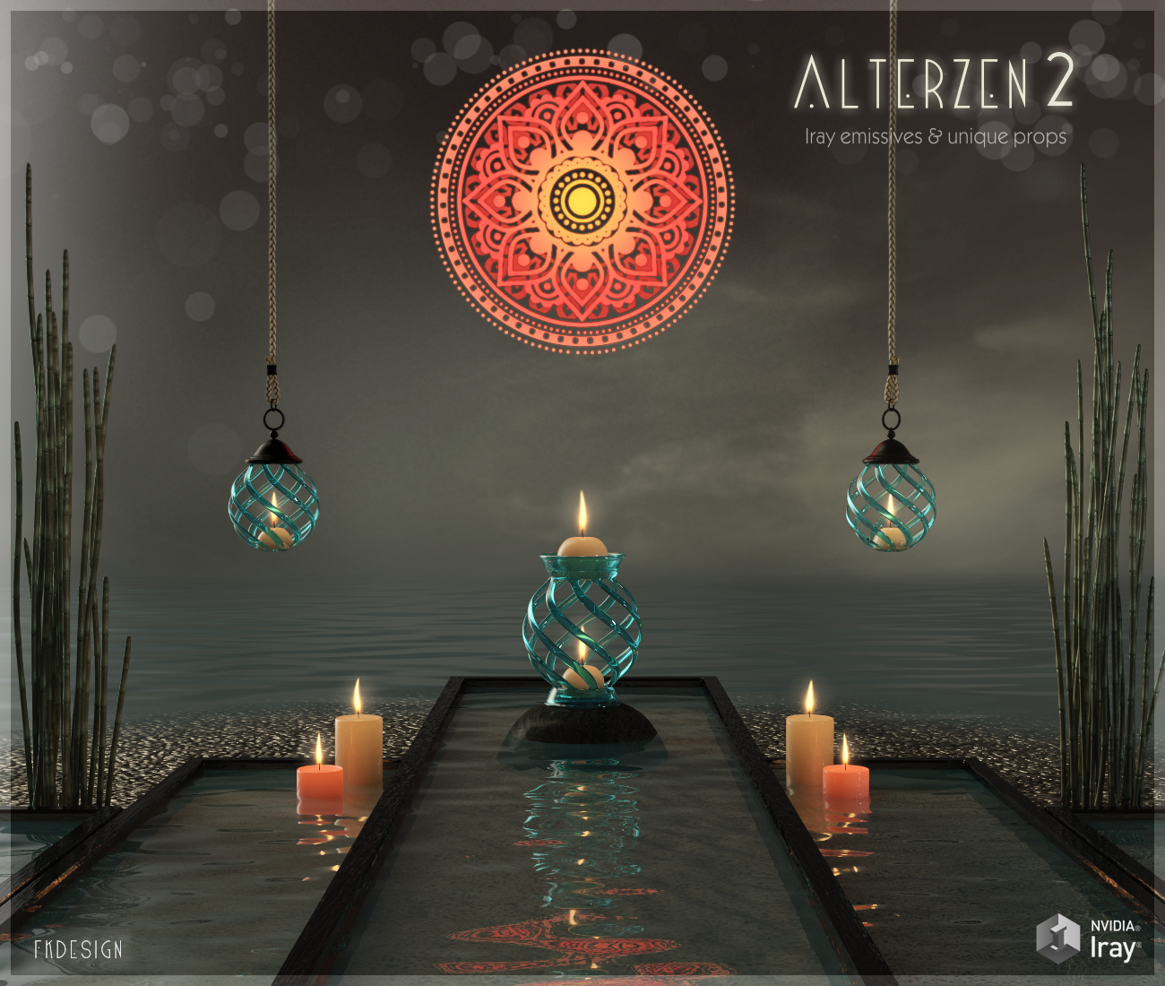 AlterZen 2 - Iray Emissives and Props