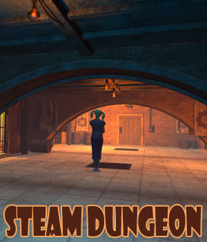 Steam Dungeon 3D Models 1971s