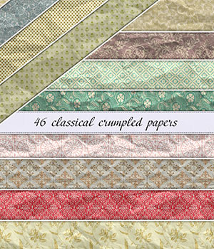 Classical Crumpled Paper :: Seamless Patterns 2D Graphics Merchant Resources Cyrax3D