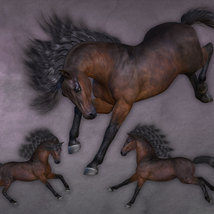 CWRW Pose Pack 1 for HiveWire Horse image 2