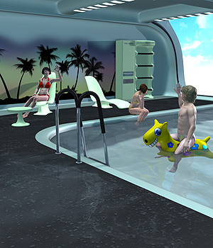 Futuristica_Panoramic Pool 3D Models coflek-gnorg