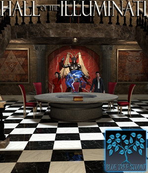 Hall of the Illuminati 3D Models BlueTreeStudio