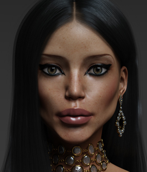 Lydia V7/G3F - Extended License 3D Figure Assets Extended Licenses Anagord