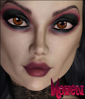 Maven For Genesis 8 Female 3D Figure Assets TwiztedMetal