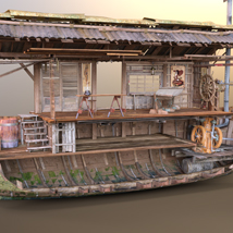 MS17 Swamp Boat for DAZ image 6