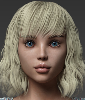 Annie for Teen Josie 8 3D Figure Assets Anagord