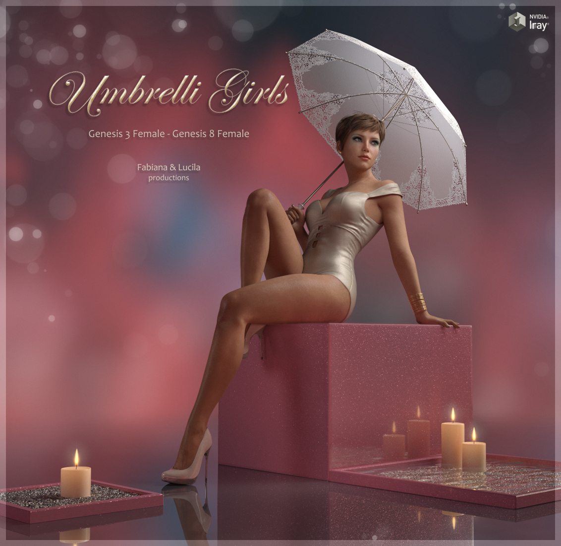Umbrelli Girls - Poses for Genesis 3 & 8 by fabiana