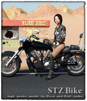 STZ Bike 3D Models santuziy78