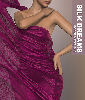 Poser - Silk Dreams 2D Graphics Merchant Resources Atenais