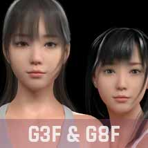 Chihiro G3G8F for Genesis 3 and 8 Female image 3