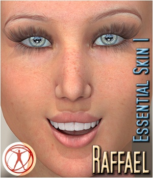Raffael - Essential Skin 1 3D Figure Assets 3Dream