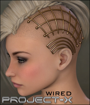 Project X - Wired 3D Figure Assets digiPixel