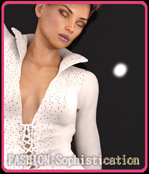 FASHION: Sophistication 3D Figure Assets ArtOfDreams