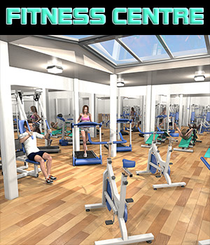 Fitness Centre 3D Models 2nd_World