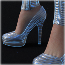 PROTOTYPE-X - SciFi High-Heels - for G8F  image 1