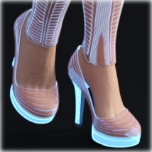 PROTOTYPE-X - SciFi High-Heels - for G8F  image 3