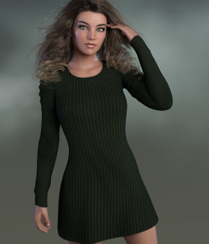 CoZee Dress for Genesis 8 Female(s) 3D Figure Assets WildDesigns
