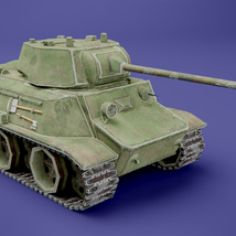 MT-25 USSR Toon Tank *Big* - Extended License image 3