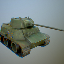 MT-25 USSR Toon Tank *Big* - Extended License image 4