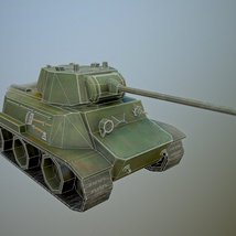 MT-25 USSR Toon Tank *Big* - Extended License image 6