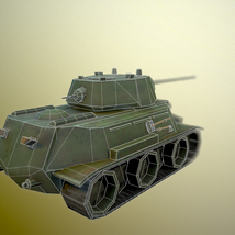 MT-25 USSR Toon Tank *Big* - Extended License image 8