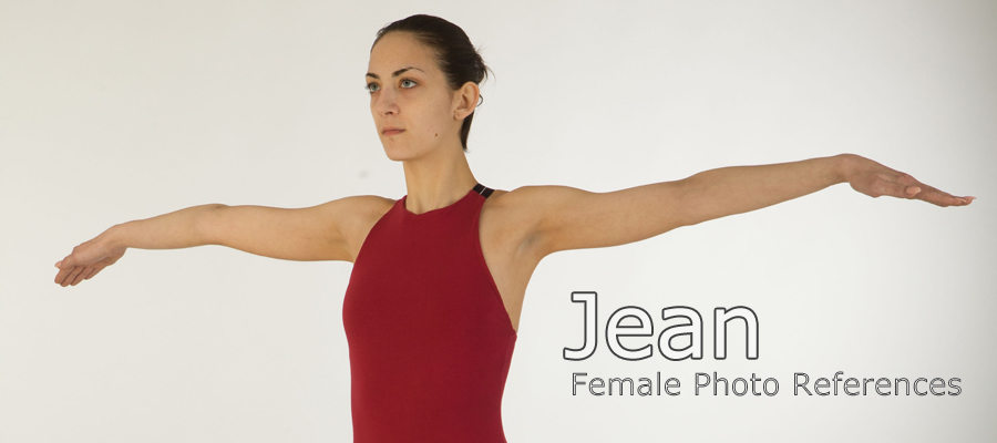 Jean, Female Full Figure Photo References
