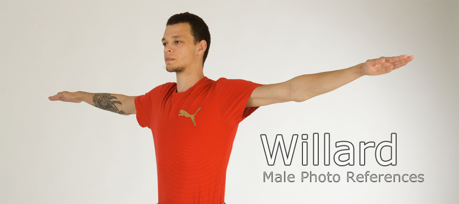 Willard, Male Full Figure Photo References by levius