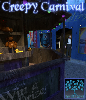 Creepy Carnival 3D Models BlueTreeStudio