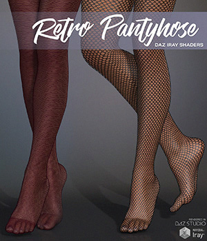 DAZ Iray - Retro Pantyhose 2D Graphics Merchant Resources Atenais