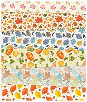 Autumn Fabric Prints 2D Graphics Merchant Resources Medeina