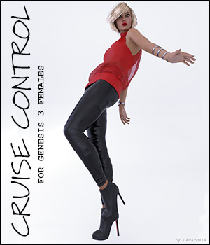 Cruise Control for Genesis 3 Females 3D Figure Assets ArtTailor