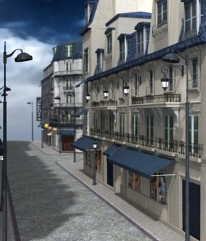 European Street for Poser by VanishingPoint