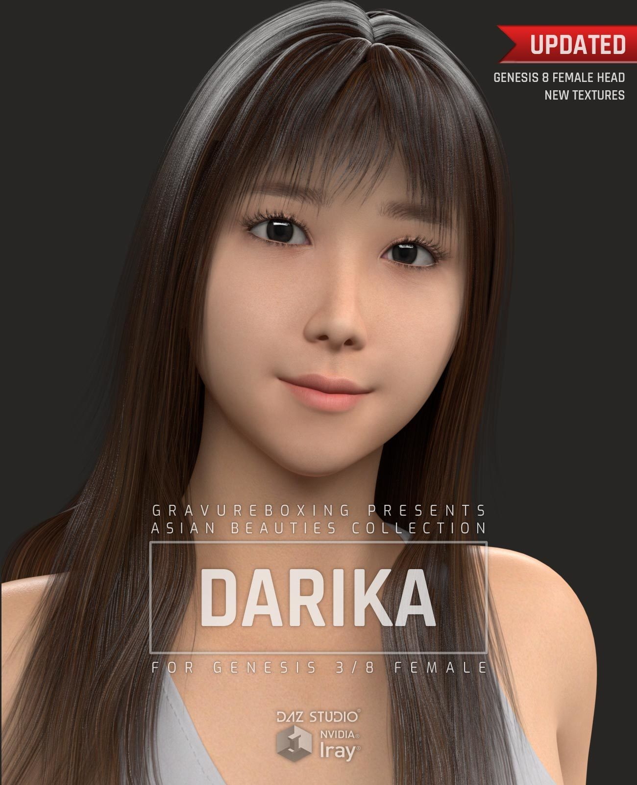 Darika G3F for Genesis 3 Female