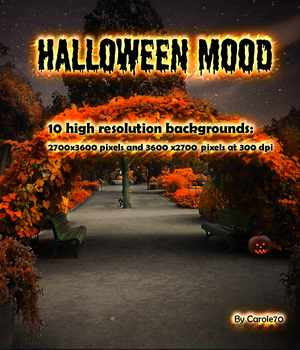 Halloween Mood 2D Graphics Carole70
