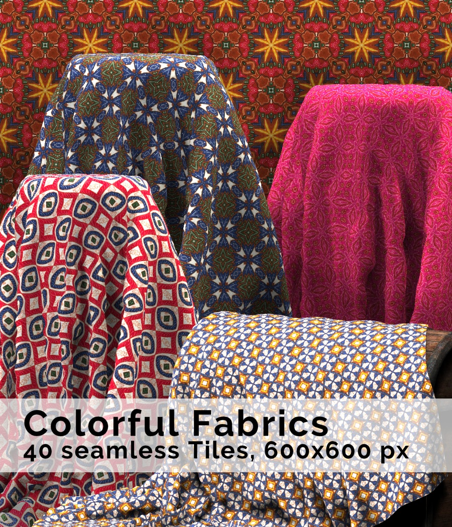 STG Colorful Fabrics