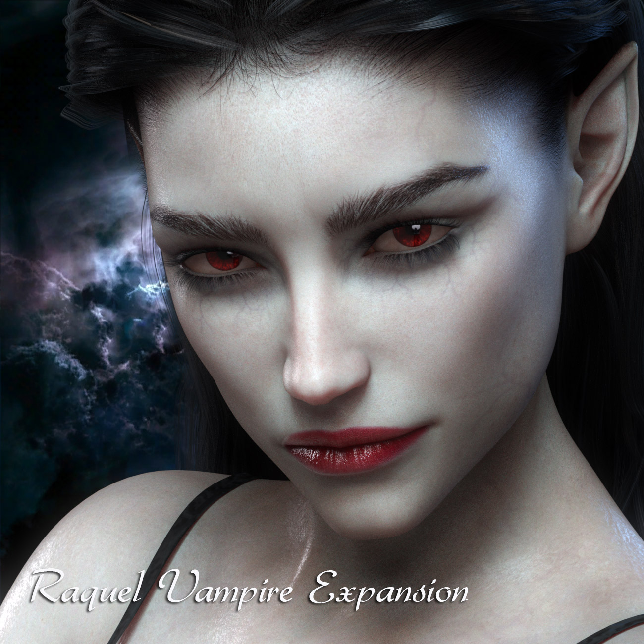 Raquel Vampire Expansion for G3F/G8F