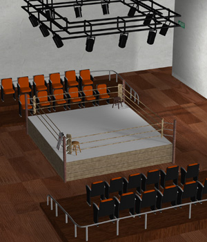 AVoR Boxing Ring 3D Models Damsel