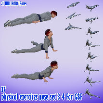 X7 physical exercises poses set 3 4 for G8F image 1